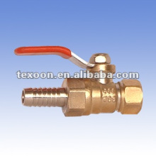 threaded copper mini ball valves with lever handle China
