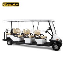 8 местный электрический автомобиль