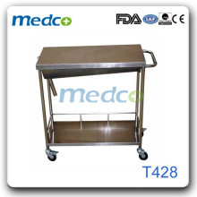 S.S Medical hand wash trolley T428