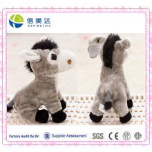 Cuddly Soft Talking Elektronische Esel Plüsch Spielzeug Custom