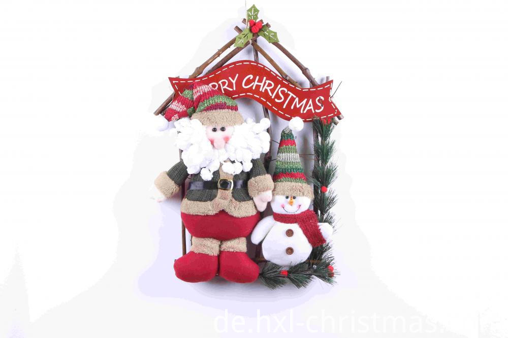 Santa Claus Snowman Hanging Ornaments