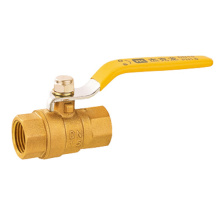 Female Lever Brass Gas Ball Valve