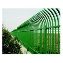 Usine chinoise de clôture tubulaire en acier assemblé