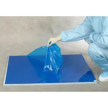 Esteiras adesivas para uso hospitalar