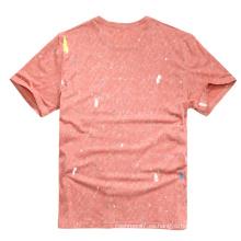 2017 nuevos hombres camisetas de algodón de manga corta camisetas impresas
