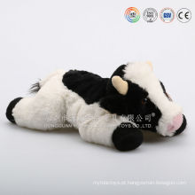 Plush stuffed farm animal vaca brinquedo pelúcia vaca