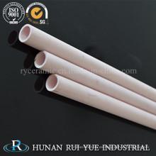 Tubo de protección de termopar de cerámica de alúmina