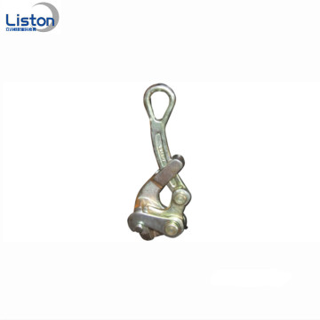 Mudah Dioperasikan Galvanized Forged Steel Wire Rope Grip