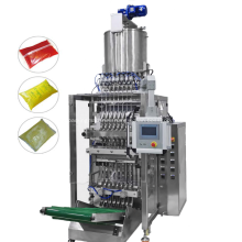 Multilane Back Sealing Bag Liquid Packing Machine