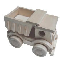 Hochwertiges Holzspielzeug-LKW