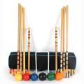 """Conjunto de croquet para crianças de 2 a 6 jogadores para crianças GIBBIN deluxe de 32 """""""
