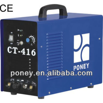CE steel material portable mosfet mma/tig/cut pulse CT-416/industrial machine/portable cutting machine price