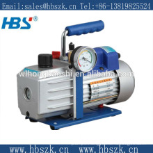 2RS-0.5 1/4HP 250ML double stage vacuum pump with a gauge