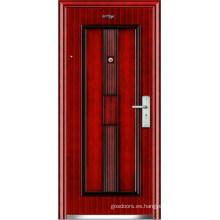 Puerta de acero de seguridad (JC-041)