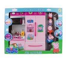 Новый розовая свинья Пластиковые кухня игрушка с en71