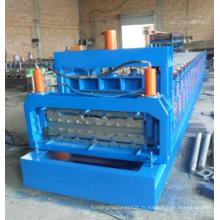 Machine de formage de rouleaux d'acier de couleur à double couche