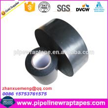 Fita de borracha butílica PE para encanamento metálico enterrado anti-corrosão