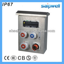 2013 IP67 Stainless Steel Power Combination Socket Box