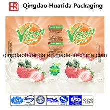 Etiqueta de PVC de alta calidad para la bebida y la botella de agua