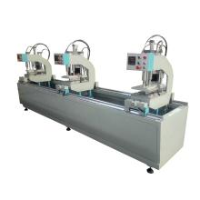SHZ3G-100X3500 Three Head UPVC PVC Welding Machine For Window And Door Profile