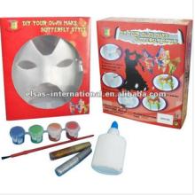 Halloween Tiermaske für Kinder Basteln Tiermasken