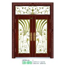 Schmiedeeisen Tür Glasscheiben