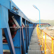 Dg Type Dustproof Pipe Belt Conveyor for Protecting Environment