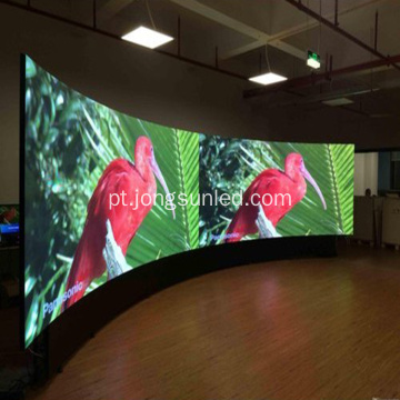 Display de LED de texto fixo para eventos coloridos internos