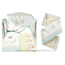 2014 New Design Home Textile Colorful Soft Baby Bedding Set