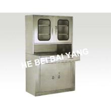 (C-15) Gabinete de tratamento de medicamentos de aço inoxidável I