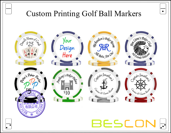 Custom Printing Golf Ball Markers-4