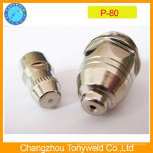 Panasonic P80 plasma cutting nozzle and electrode
