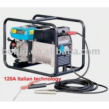 120A / 180A / 190A soldador de gasolina