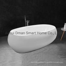 High Quality Cheap Acrylic White Oval Freestanding Bathtub