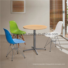 Modern Restaurant Wood Top Table and Plastic Chair (SP-CT526)