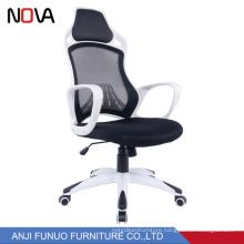 Nova car style fashion high mesh back office lifting chair for staff