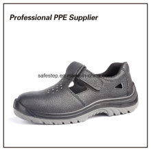 Echtes Leder billig atmungsaktiv Sommer Arbeit Schuh