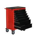 Gabinete de ferramentas de rolo de aço com bandeja superior de ABS