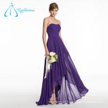 La nueva manera cómoda plisó los vestidos formales de la dama de honor del plisado