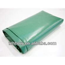 green 0.55mm pvc tarpaulin