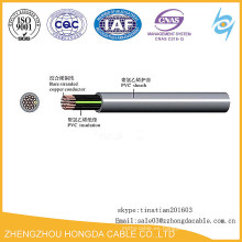 Cable de alambre aislado plástico del control de cobre 450 / 750V KVV / KVVP / KVVR / ZR-KVVRP / ZR-KVV