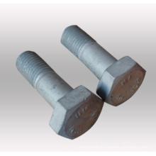 Aço inoxidável / Aço Carbono Hex parafusos e Porcas Zincado / HDG Hex Porcas e parafusos (DIN933 e DIN934)