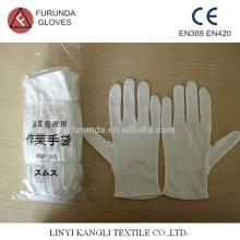 Gants en coton, gants d'inspection 100% coton