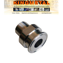 ANSI 304 Hydraulic Pipe Fitting Bsp Male NPT Adapter Supplier
