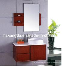 Armário de banheiro de madeira maciça / vaidade de banheiro de madeira maciça (KD-430)