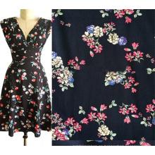 Fábrica de China al por mayor rayón Challis tela para ropa de mujer