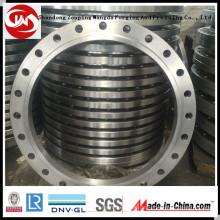 Großer Durchmesser Schmiedeflansch (300-6500mm) Karton Stahl Flansch