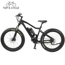 2017 Snow hunting bike Fat neumático eléctrico bicicleta de montaña