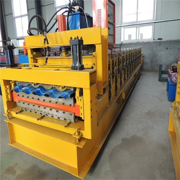 Galvanized Metal Three Layer Forming Machine