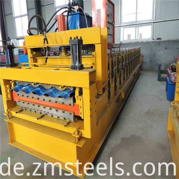 steel double layer roll forming machine